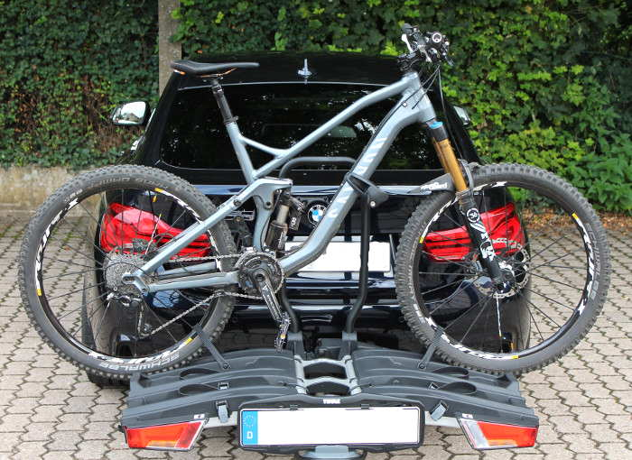 thule easyfold xt 3 fahrradtr ger im test bike geek. Black Bedroom Furniture Sets. Home Design Ideas