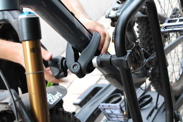 thule easyfold xt 3 fahrradtr ger im test bike geek. Black Bedroom Furniture Sets. Home Design Ideas