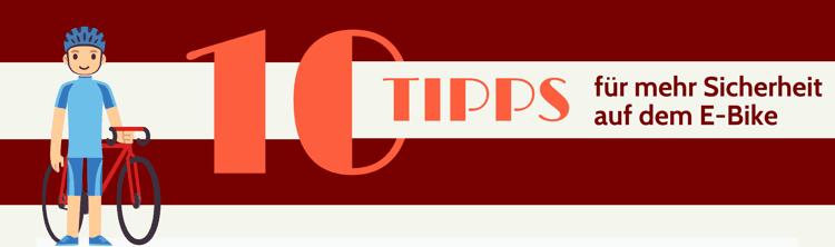 Photo of 10 Tipps für mehr Sicherheit auf dem E-Bike (mit Infografik)