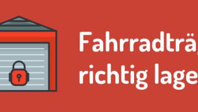 Photo of Fahrradträger richtig lagern